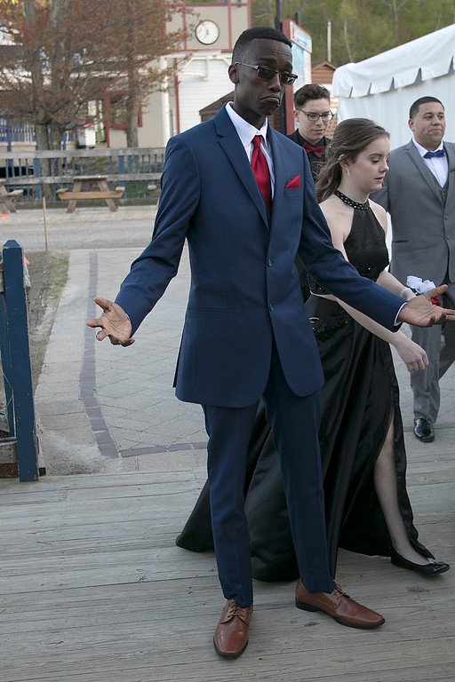 . Scenes from the Fitchburg High School Prom at Wachusett Mountain Ski Area, May 11, 2019. SENTINEL & ENTERPRISE/JOHN LOVE