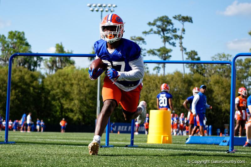 University of Florida Gators Football Spring Practice 2019