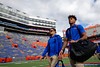 The Florida Gators during Gator Walk as the Gators prepare to face the University of Tennessee Volunteers at Ben Hill Griffin Stadium in Gainesville, Florida.  September 21st, 2019. Gator Country Photo by David Bowie.