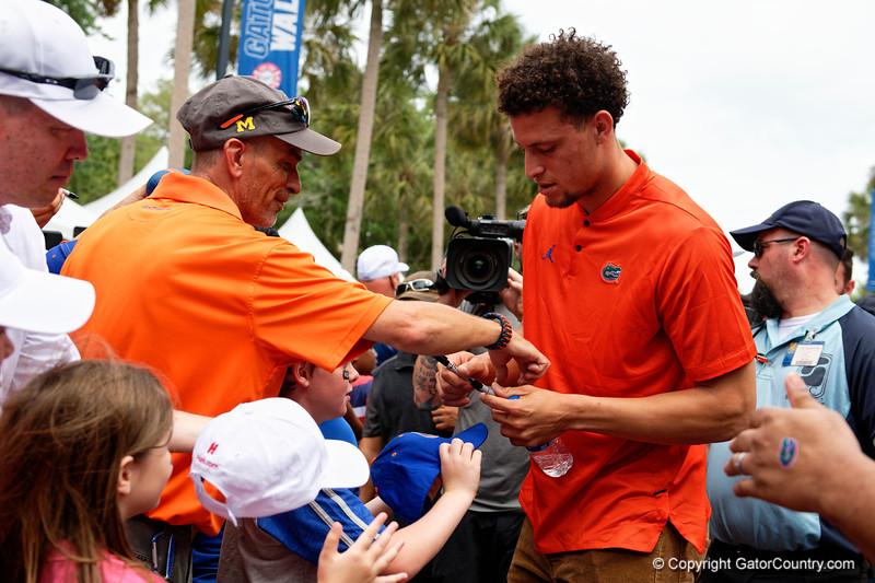 Florida Gators Football Gator Walk 2019 Orange and Blue Game