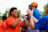 Florida Gators Football Gator Walk 2019 Orange and Blue Game