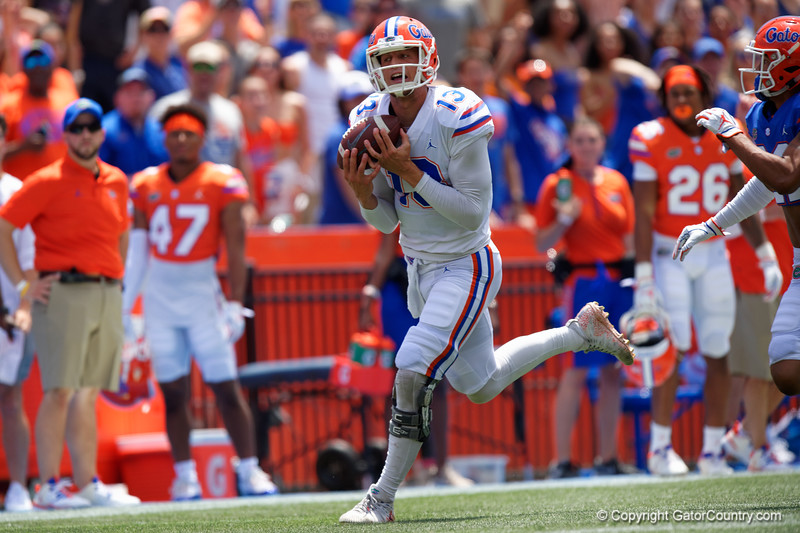 Florida Gators Football 2019 Orange and Blue Debut