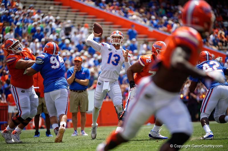 Florida Gators Football 2019 Orange and Blue Debut