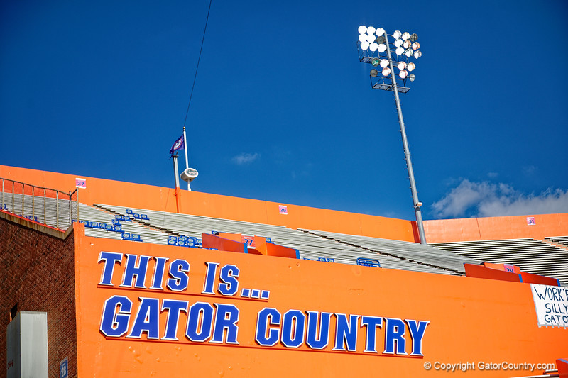 Ben Hill Griffin Stadium during Gator Walk as the Gators prepare to face UT Martin at Ben Hill Griffin Stadium in Gainesville, Florida.  September 7th, 2019. Gator Country Photo by David Bowie.