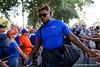 Florida Gators defensive lineman Adam Shuler II (88) during Gator Walk as the Gators prepare to face UT Martin at Ben Hill Griffin Stadium in Gainesville, Florida.  September 7th, 2019. Gator Country Photo by David Bowie.