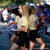 The Florida Gators Dazzlers cheer on during Gator Walk as the Gators prepare to face UT Martin at Ben Hill Griffin Stadium in Gainesville, Florida.  September 7th, 2019. Gator Country Photo by David Bowie.