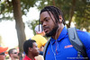 Florida Gators defensive lineman Jabari Zuniga (92) during Gator Walk as the Gators prepare to face UT Martin at Ben Hill Griffin Stadium in Gainesville, Florida.  September 7th, 2019. Gator Country Photo by David Bowie.