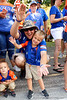 Florida Gators fans cheer on during Gator Walk as the Gators prepare to face UT Martin at Ben Hill Griffin Stadium in Gainesville, Florida.  September 7th, 2019. Gator Country Photo by David Bowie.
