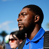 Florida Gators wide receiver Rick Wells (83) as the Gators walk into Camping World Stadium during Gator Walk as the University of Florida Gators prepare to take on the University of Miami Hurricanes at Camping World Stadium in Orlando, Florida.  August 23rd, 2019. Gator Country Photo by David Bowie.