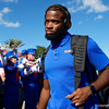 Florida Gators tight end Kemore Gamble (88) as the Gators walk into Camping World Stadium during Gator Walk as the University of Florida Gators prepare to take on the University of Miami Hurricanes at Camping World Stadium in Orlando, Florida.  August 23rd, 2019. Gator Country Photo by David Bowie.