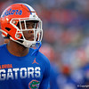 Florida Gators defensive back Amari Burney (30) during pregame as the University of Florida Gators hold on to win 24-20 over the University of Miami Hurricanes at Camping World Stadium in Orlando, Florida.  August 23rd, 2019. Gator Country Photo by David Bowie.