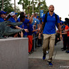 The Florida Gators during Gator Walk as the Gators prepare to face the Florida State Seminoles at Ben Hill Griffin Stadium in Gainesville, Florida.  November 30th, 2019. Gator Country Photo by David Bowie.