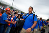 Florida Gators offensive lineman Stone Forsythe (72) as the #6 Florida Gators walk into TIAA Bank Field as they prepare to take on the #8 Georgia Bulldogs at in Jacksonville, Florida.  November 2nd, 2019. Gator Country Photo by David Bowie.