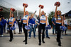 The Florida Gators Dazzlers as the #6 Florida Gators walk into TIAA Bank Field as they prepare to take on the #8 Georgia Bulldogs at in Jacksonville, Florida.  November 2nd, 2019. Gator Country Photo by David Bowie.