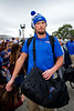 Florida Gators tight end Lucas Krull (7) as the #6 Florida Gators walk into TIAA Bank Field as they prepare to take on the #8 Georgia Bulldogs at in Jacksonville, Florida.  November 2nd, 2019. Gator Country Photo by David Bowie.