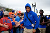 Florida Gators wide receiver Trevon Grimes (8) as the #6 Florida Gators walk into TIAA Bank Field as they prepare to take on the #8 Georgia Bulldogs at in Jacksonville, Florida.  November 2nd, 2019. Gator Country Photo by David Bowie.