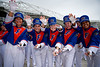 The University of Florida Gators Band as the #6 Florida Gators walk into TIAA Bank Field as they prepare to take on the #8 Georgia Bulldogs at in Jacksonville, Florida.  November 2nd, 2019. Gator Country Photo by David Bowie.