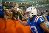 Photos from the second half as the Gators faced the Auburn Tigers at Ben Hill Griffin Stadium in Gainesville, Florida.  October 5th, 2019. Gator Country Photo by David Bowie.