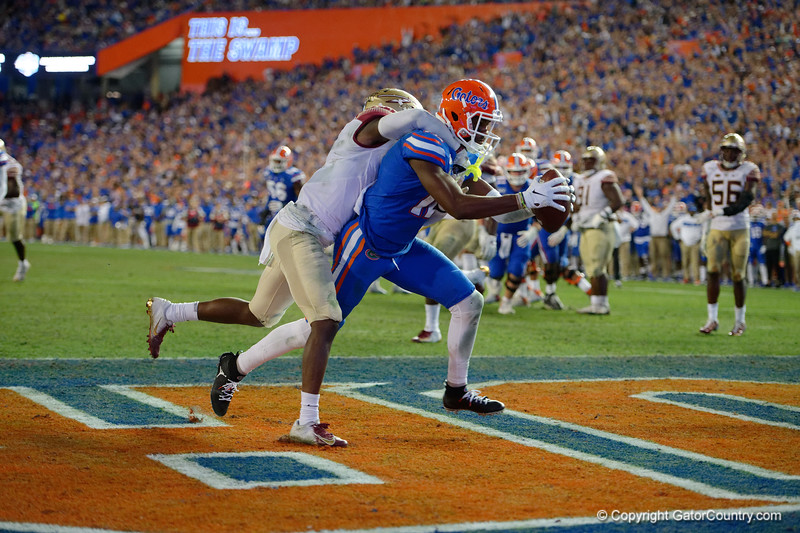 Photos from the second half as the Florida Gators faced the Florida State Seminoles at Ben Hill Griffin Stadium in Gainesville, Florida.  November 30th, 2019. Gator Country Photo by David Bowie.