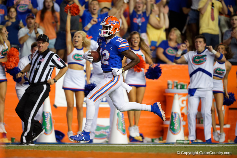 Photos from the first half as the Gators faced UT Martin at Ben Hill Griffin Stadium in Gainesville, Florida.  September 7th, 2019. Gator Country Photo by David Bowie.