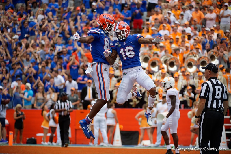 Photos from the second half as the Gators faced the University of Tennessee Volunteers at Ben Hill Griffin Stadium in Gainesville, Florida.  September 21st, 2019. Gator Country Photo by David Bowie.