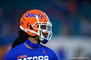 Florida Gators defensive back Jaydon Hill (23) during pregame as the Florida Gators prepare to take on the Virginia Cavaliers in the 2019 Capital One Orange Bowl in Miami Gardens, Florida.  December 30th, 2019. Gator Country Photo by David Bowie.