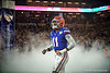 Florida Gators linebacker Mohamoud Diabate (11) as the Florida Gators run onto the field prior to kickoff in the 2019 Capital One Orange Bowl in Miami Gardens, Florida.  December 30th, 2019. Gator Country Photo by David Bowie.
