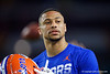 Florida Gators wide receiver Freddie Swain (16) during pregame as the Florida Gators prepare to take on the Virginia Cavaliers in the 2019 Capital One Orange Bowl in Miami Gardens, Florida.  December 30th, 2019. Gator Country Photo by David Bowie.