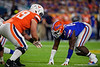 Florida Gators defensive lineman Zachary Carter (17) as the Florida Gators take on the Virginia Cavaliers in the 2019 Capital One Orange Bowl in Miami Gardens, Florida.  December 30th, 2019. Gator Country Photo by David Bowie.