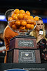 The Capital One Orange bowl trophy as the Florida Gators take on the Virginia Cavaliers in the 2019 Capital One Orange Bowl in Miami Gardens, Florida.  December 30th, 2019. Gator Country Photo by David Bowie.