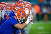 The Florida Gators during pregame as the Florida Gators prepare to take on the Virginia Cavaliers in the 2019 Capital One Orange Bowl in Miami Gardens, Florida.  December 30th, 2019. Gator Country Photo by David Bowie.