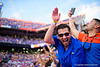 Florida Gators fans cheer on as the Gators defeat the #5 Auburn Tigers 24-13 at Ben Hill Griffin Stadium in Gainesville, Florida on October 5th, 2019 (Photo by David Bowie/Gatorcountry)