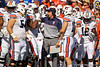 Auburn Tigers head coach Gus Malzahn as the Gators defeat the #5 Auburn Tigers 24-13 at Ben Hill Griffin Stadium in Gainesville, Florida on October 5th, 2019 (Photo by David Bowie/Gatorcountry)