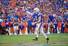 Florida Gators quarterback Kyle Trask (11) throwing as the Gators defeat the #5 Auburn Tigers 24-13 at Ben Hill Griffin Stadium in Gainesville, Florida on October 5th, 2019 (Photo by David Bowie/Gatorcountry)
