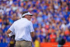 Florida Gators head coach Dan Mullen as the Gators defeat the #5 Auburn Tigers 24-13 at Ben Hill Griffin Stadium in Gainesville, Florida on October 5th, 2019 (Photo by David Bowie/Gatorcountry)