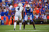 Florida Gators defensive back Kaiir Elam (5) as the Gators defeat the #5 Auburn Tigers 24-13 at Ben Hill Griffin Stadium in Gainesville, Florida on October 5th, 2019 (Photo by David Bowie/Gatorcountry)