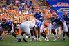 Florida Gators quarterback Emory Jones (5) as the Gators defeat SEC East rival the University of Tennessee Volunteers at Ben Hill Griffin Stadium in Gainesville, Florida on September 21st, 2019 (Photo by David Bowie/Gatorcountry)