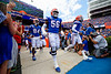 Florida Gators offensive lineman Jean Delance (56) takes the field as the Gators defeat SEC East rival the University of Tennessee Volunteers at Ben Hill Griffin Stadium in Gainesville, Florida on September 21st, 2019 (Photo by David Bowie/Gatorcountry)