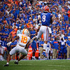 Florida Gators wide receiver Trevon Grimes (8) as the Gators defeat SEC East rival the University of Tennessee Volunteers at Ben Hill Griffin Stadium in Gainesville, Florida on September 21st, 2019 (Photo by David Bowie/Gatorcountry)