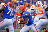 Florida Gators running back Lamical Perine (2) rushing as the Gators defeat SEC East rival the University of Tennessee Volunteers at Ben Hill Griffin Stadium in Gainesville, Florida on September 21st, 2019 (Photo by David Bowie/Gatorcountry)