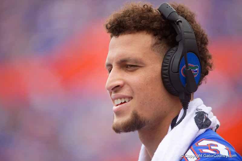 Florida Gators quarterback Feleipe Franks (13) as the Gators defeat SEC East rival the University of Tennessee Volunteers at Ben Hill Griffin Stadium in Gainesville, Florida on September 21st, 2019 (Photo by David Bowie/Gatorcountry)