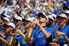 The University of Florida marching band plays on as the Gators defeat SEC East rival the University of Tennessee Volunteers at Ben Hill Griffin Stadium in Gainesville, Florida on September 21st, 2019 (Photo by David Bowie/Gatorcountry)