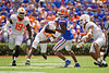 Florida Gators wide receiver Tyrie Cleveland (89) makes a catch as the Gators defeat SEC East rival the University of Tennessee Volunteers at Ben Hill Griffin Stadium in Gainesville, Florida on September 21st, 2019 (Photo by David Bowie/Gatorcountry)