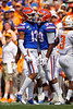 Florida Gators defensive back Donovan Stiner (13) and Florida Gators defensive back Amari Burney (30) as the Gators defeat SEC East rival the University of Tennessee Volunteers at Ben Hill Griffin Stadium in Gainesville, Florida on September 21st, 2019 (Photo by David Bowie/Gatorcountry)