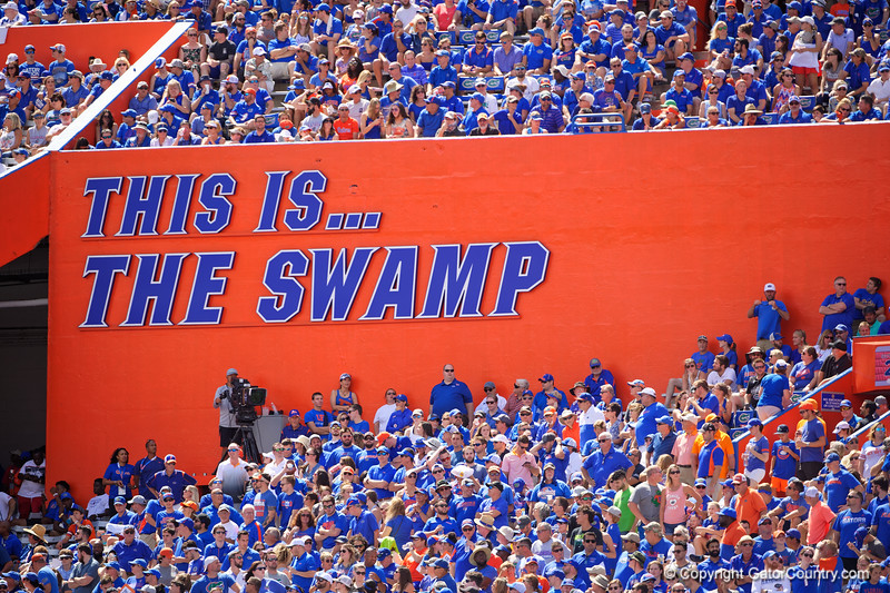 The Swamp as the Gators defeat SEC East rival the University of Tennessee Volunteers at Ben Hill Griffin Stadium in Gainesville, Florida on September 21st, 2019 (Photo by David Bowie/Gatorcountry)