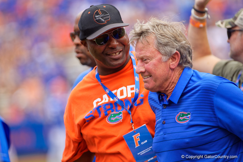 The Ole Ball Coach Steve Spurrier as the Gators defeat SEC East rival the University of Tennessee Volunteers at Ben Hill Griffin Stadium in Gainesville, Florida on September 21st, 2019 (Photo by David Bowie/Gatorcountry)