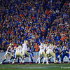 Florida Gators fans cheer on as the Gators hosted and defeated the Florida State Seminoles 40-17 at Ben Hill Griffin Stadium in Gainesville, Florida on November 30th, 2019 (Photo by David Bowie/Gatorcountry)