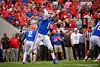 Florida Gators quarterback Kyle Trask (11) passing as the #6 Gators lose to the #6 Georgia Bulldogs 24-17 at TIAA Bank Field in Jacksonville, Florida on November 2nd, 2019 (Photo by David Bowie/Gatorcountry)