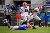 Georgia Bulldogs running back D'Andre Swift (7) avoids the tackle by Florida Gators defensive back Marco Wilson (3) as the #6 Gators lose to the #6 Georgia Bulldogs 24-17 at TIAA Bank Field in Jacksonville, Florida on November 2nd, 2019 (Photo by David Bowie/Gatorcountry)