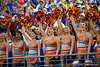The Gatorettes cheer on as the #6 Gators lose to the #6 Georgia Bulldogs 24-17 at TIAA Bank Field in Jacksonville, Florida on November 2nd, 2019 (Photo by David Bowie/Gatorcountry)